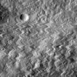 LRO image during tiny impact