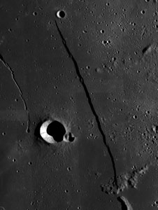 Rupes Recta on the Moon