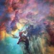 Lagoon Nebula, by Hubble