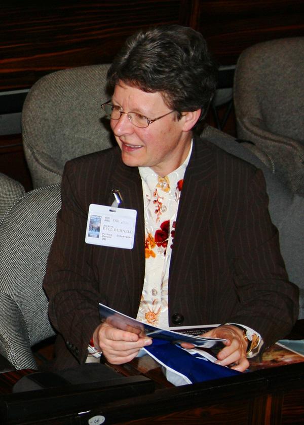 Jocelyn Bell Burnell, 2009