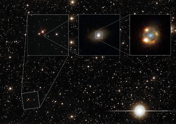 Zoom-in on gravitationally lensed supernova