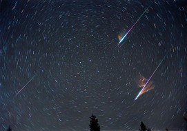 Leonid meteor shower in 2012