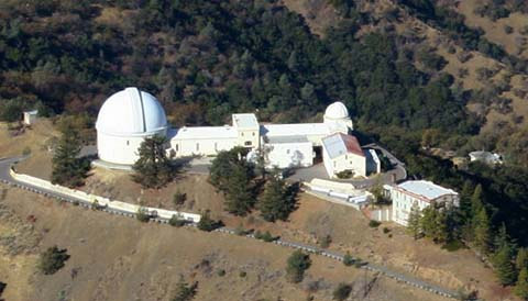 Lick Observatory (aerial view)