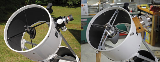 Lightbridge modifications - before & after