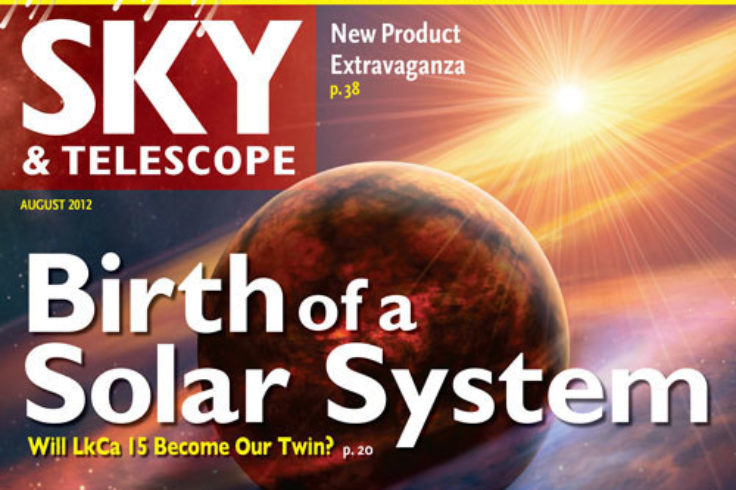 August 2012 issue of Sky & Telescope