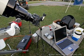Astrophotography: The Cable Monster