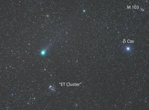 Lovejoy meets ET!