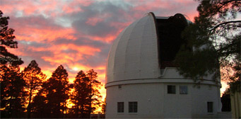 Sunset at Lowell Observatory