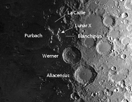 Lunar X locator