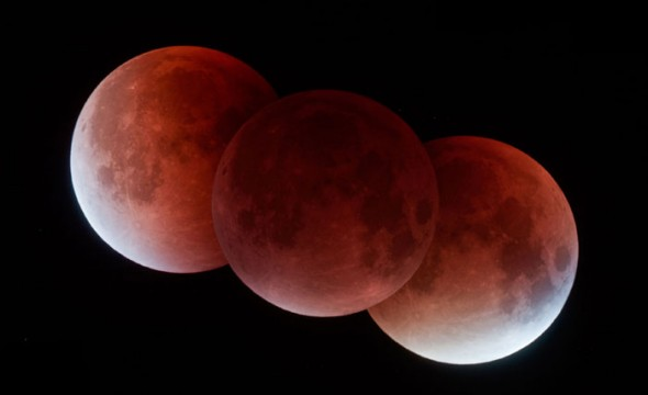 September 27, 2015, Lunar Eclipse