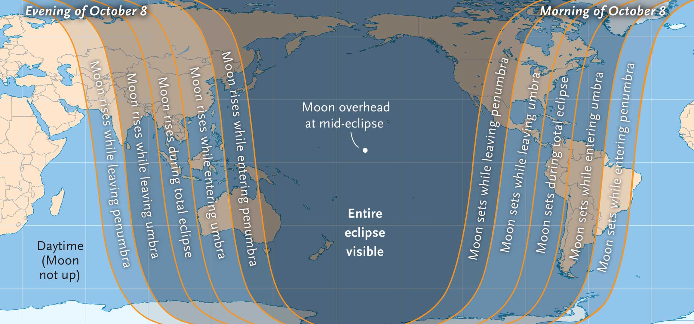 blood moon eclipse map - photo #1