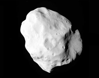 Lutetia as seen by Rosetta