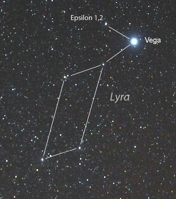 Epsilon in Lyra