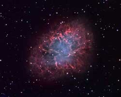 Crab Nebula (M1), another nebulae you can observe!
