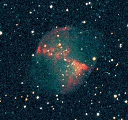 through a small telescope nebula m27 - photo #6