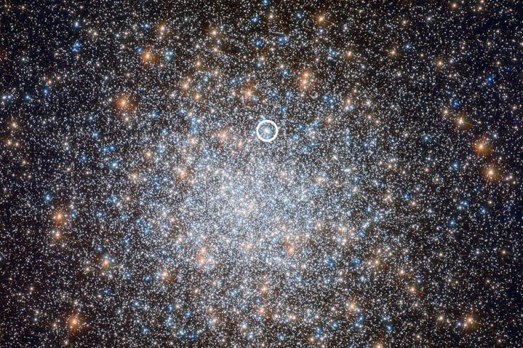 Hubble photo of M3