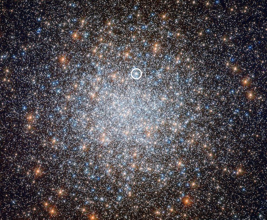 Hubble photo of M3