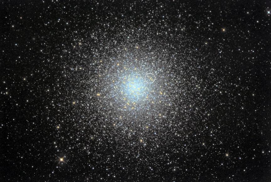 M3 globular wide view