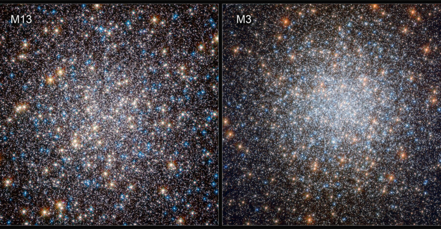 M13 and M3