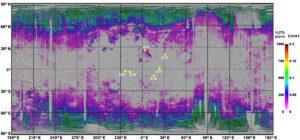 water in moon regolith