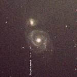 M51 120sec 25C nodarks Cr First Light - Supernova