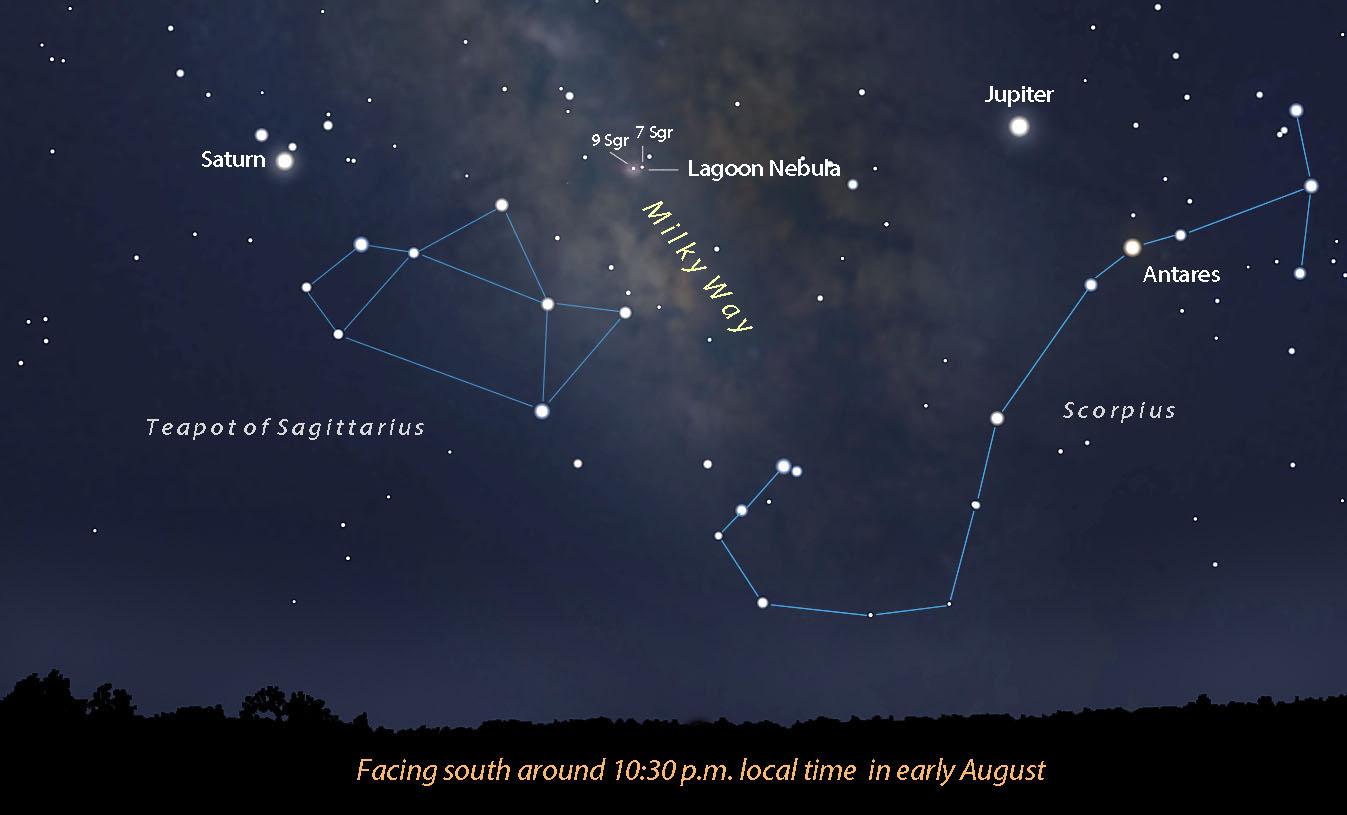 "Summer's ""Orion Nebula"""