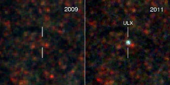 True-color image of ULX