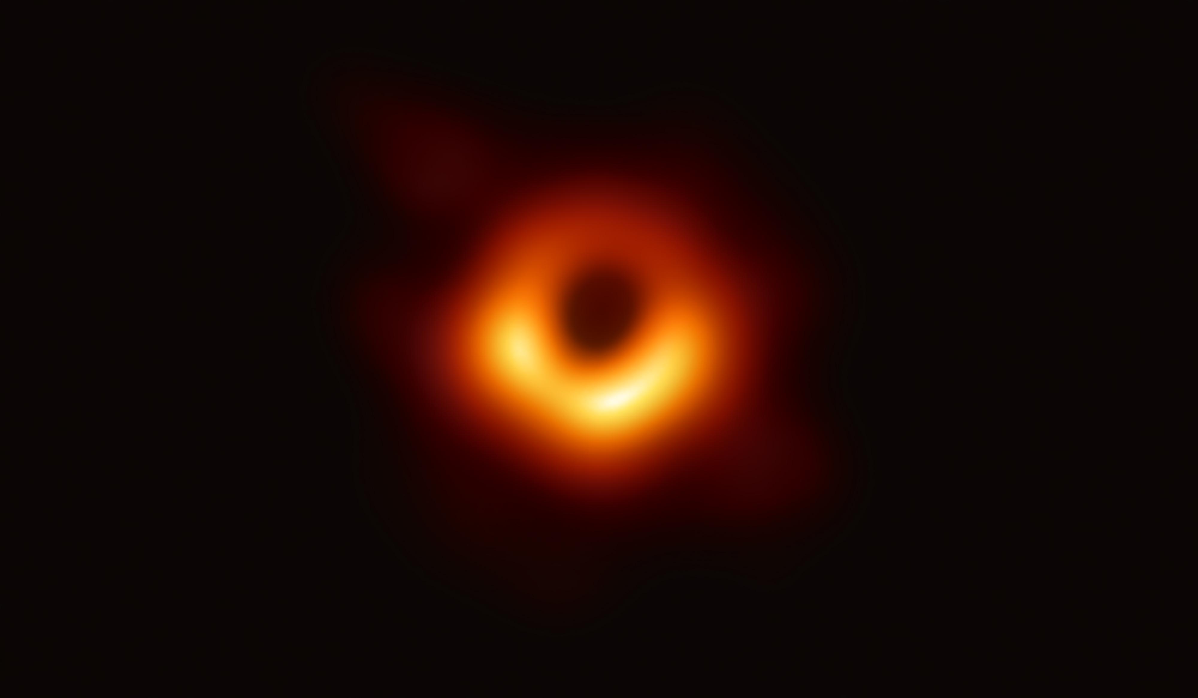 black hole shadow M87