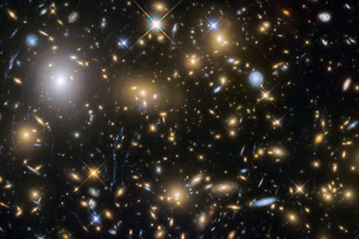 MACS0717 galaxy cluster