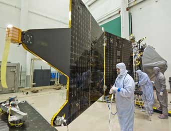 MAVEN Mars mission in lab