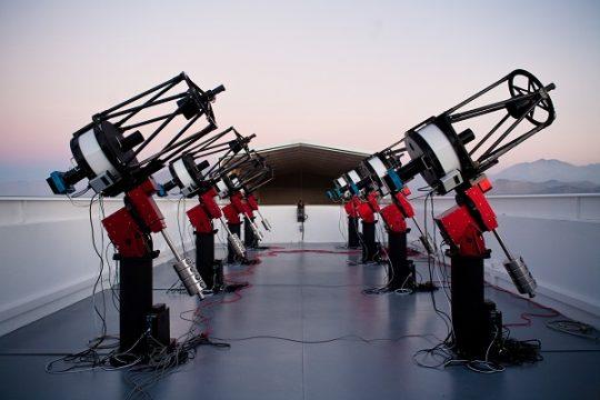 MEarth telescopes in Chile