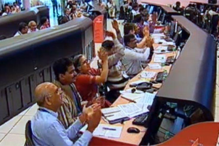 India's space control center