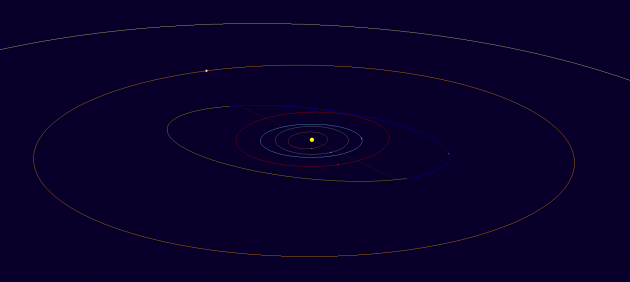 Orbital Map Fredschaaf, named for S&T contributing editor Fred Schaaf