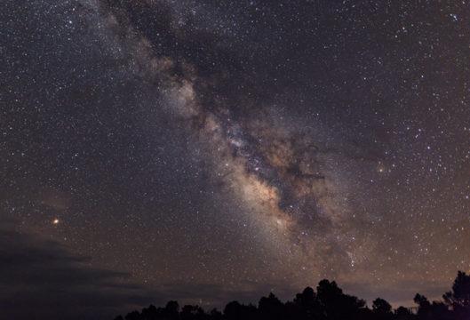 Milky Way astrophoto