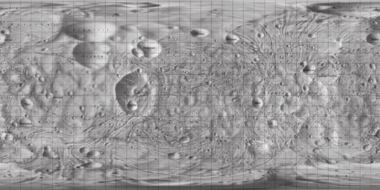 Map of phobos