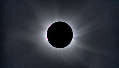 Alson Wong's total eclipse photo
