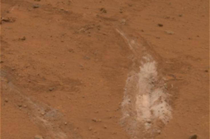 Spirit's tracks uncover silica deposits that hint at past hydrothermal activity.