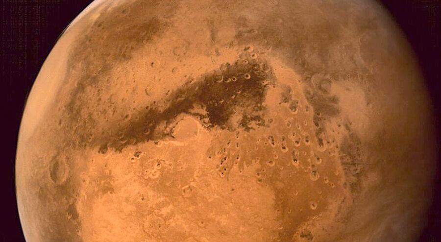 Mangalyaan image of Mars