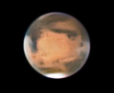 Mars at 3:25 UT Feb. 12, 2010