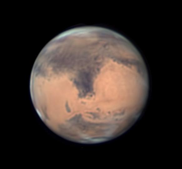 Mars on June 1, 2016
