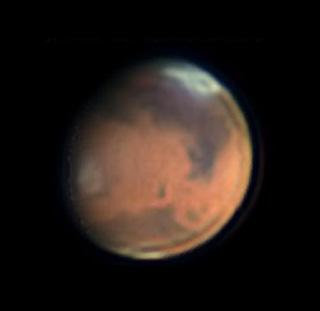 Mars on Feb. 20, 2016