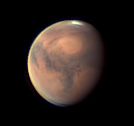 Mars on October 10, 2018