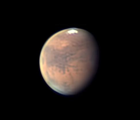 Mars on Nov. 1, 2019