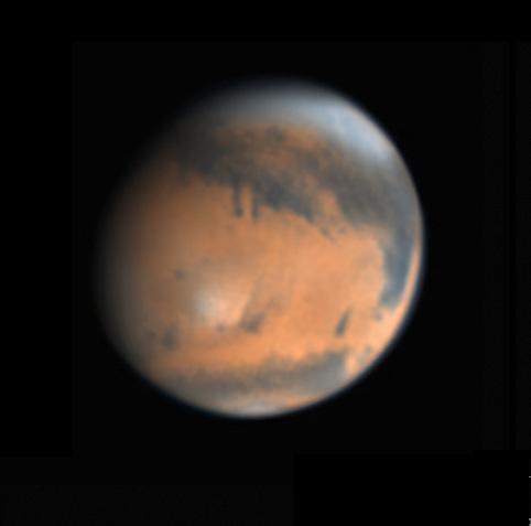 Mars on Feb. 22, 2018
