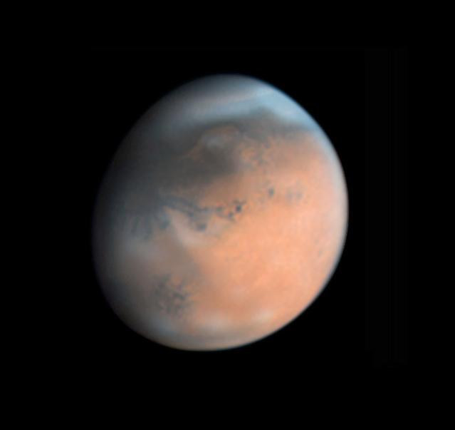 Mars on April 17, 2018