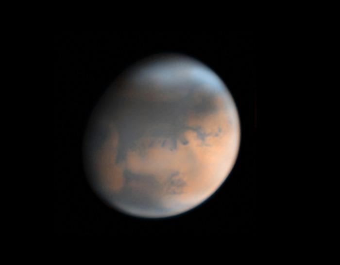 Mars on April 20, 2018