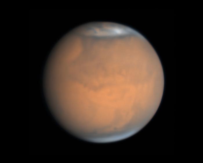 Mars on July 10, 2018