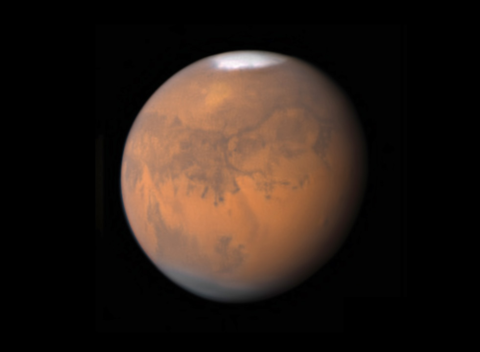 Mars on September 8, 2018