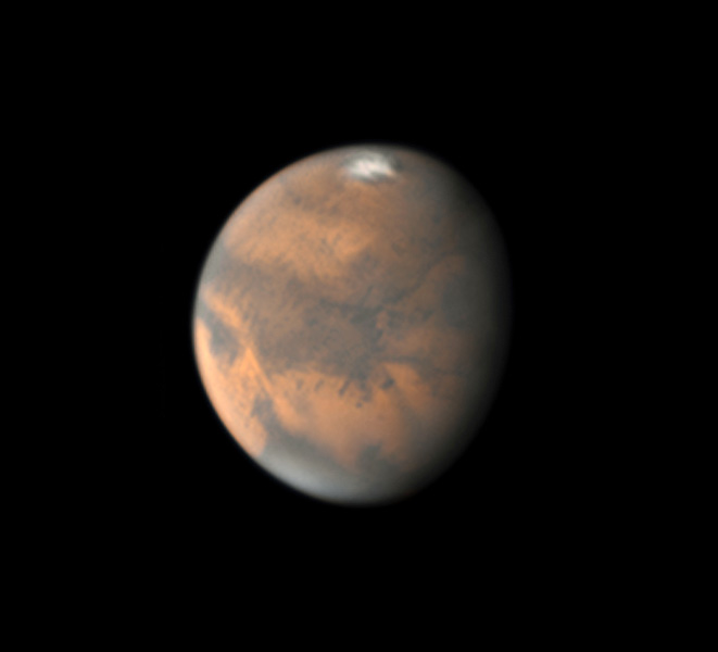 Mars on Nov. 21, 2018