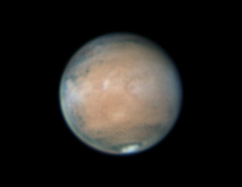 Mars on March 20-21, 2012